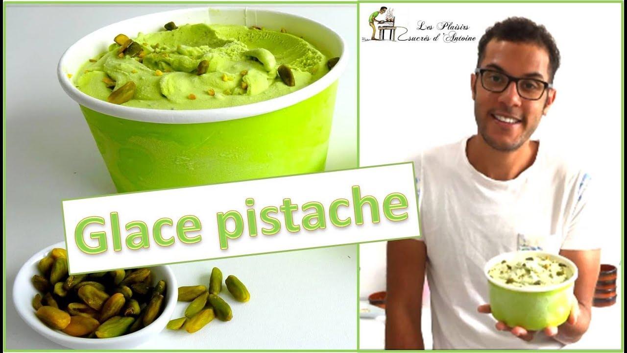 Recette Glace Pistache Sans Oeufs recette glace pistache simple et rapide / easy and fast pistachio ice-cream