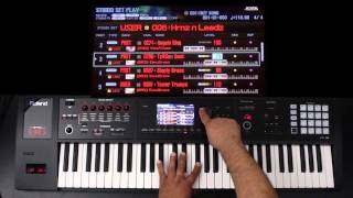 Roland FA-06/08 - Advanced Layers and Splits 02 - Part 3