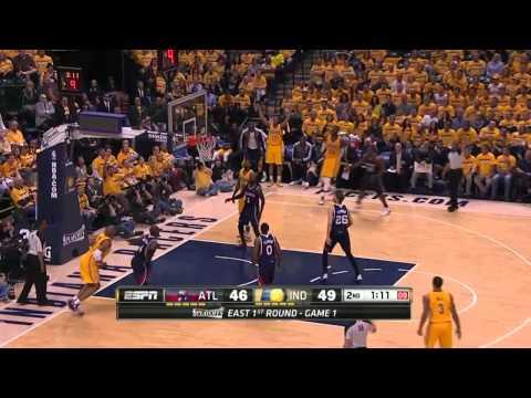 Atlanta Hawks vs Indiana Pacers Game 1 | April 19, 2014 | NBA Playoffs 2014
