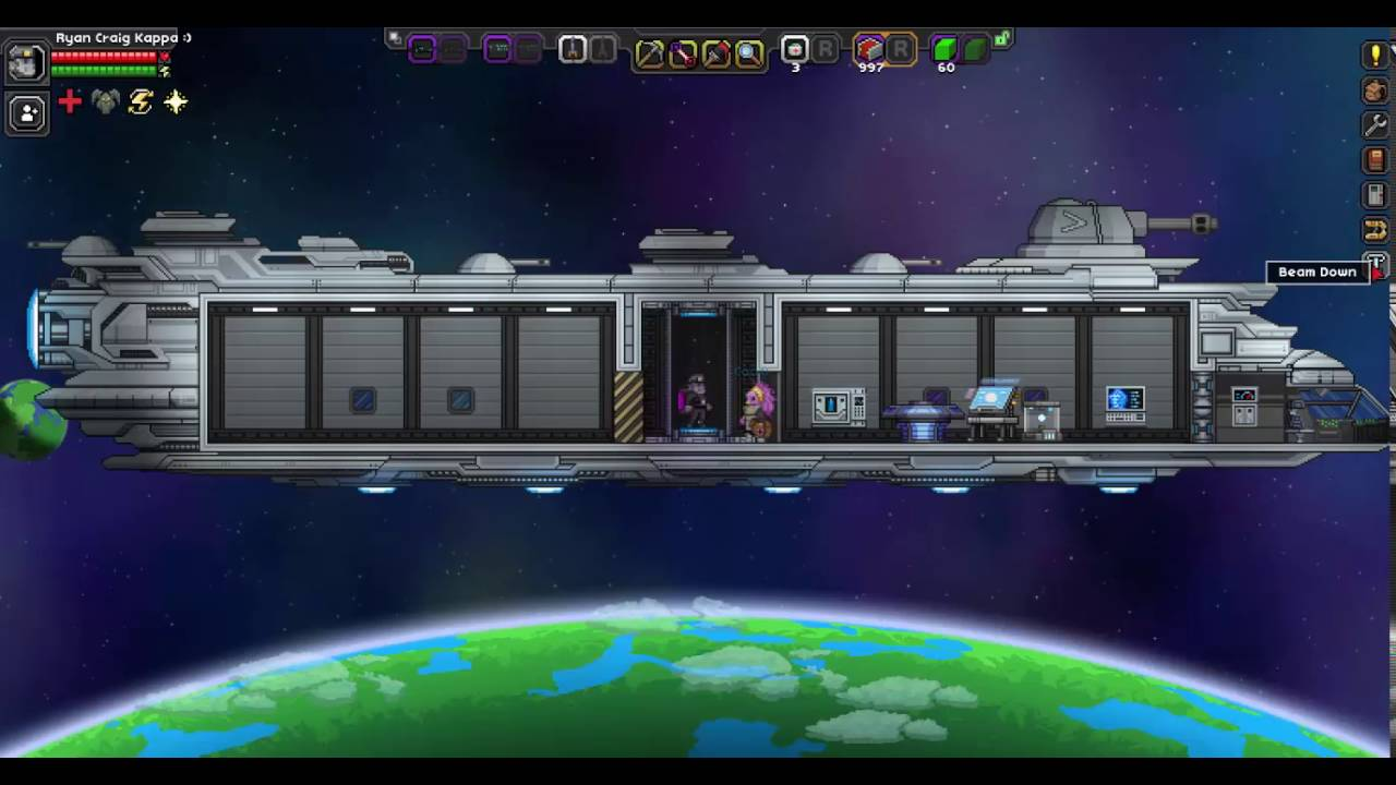Starbound: how to improve the ship in the game