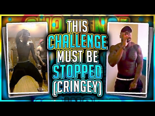 THIS CHALLENGE MUST BE STOPPED!! (CRINGEY)