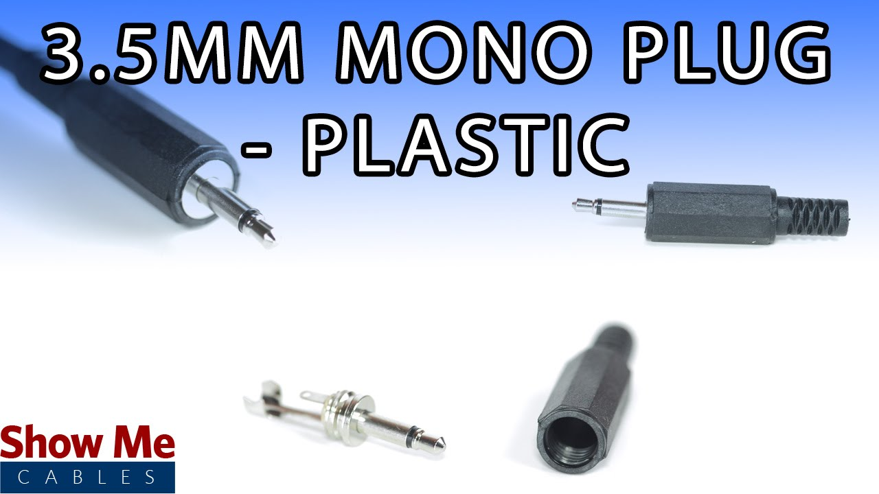 Mono Headphone Jack Wiring 35mm Plastic Plug Diy Project To Repair Your Audio Cable 972 Youtube