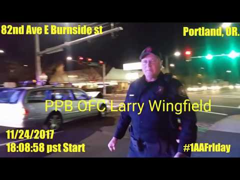 """Portland Police Officer Wingfield Larry L 26849 Pt3 Professional Liar/Flawed Human beings """"Who Am I"""""""