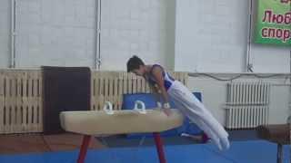 Гимнастические упражнения. Упражнения на коне-махи