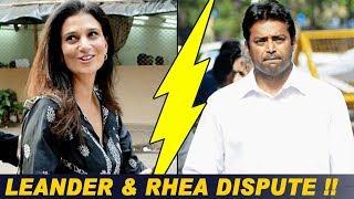 Rhea Pillai Files A Domestic Violence Case Against Leander Paes !!