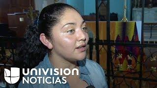 Madre guatemalteca refugiada en iglesia de Nueva York tiene 90 días para resolver su caso