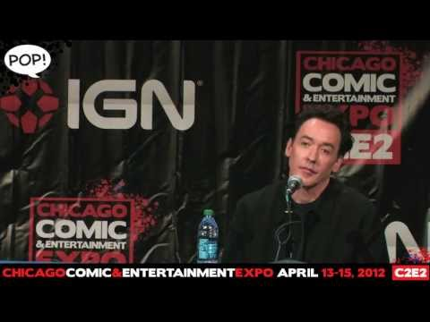 C2E2 '12 Video: The John Cusack Q&A! Full Panel!  PanelsOnPages.com
