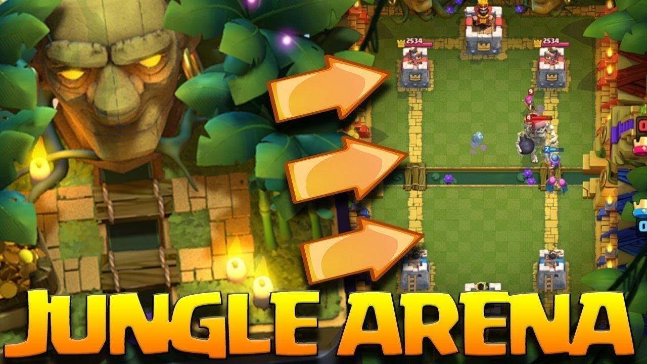 Clash Royale Arena 9