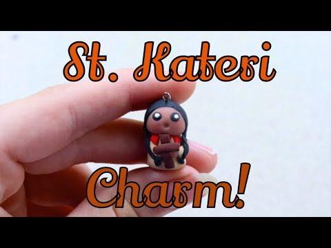 St. Kateri Tekakwitha Chibi Charm Tutorial