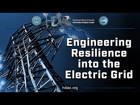 Engineering Resilience into the Electric Grid