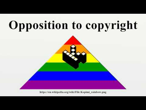 Opposition to copyright