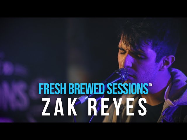 #acoustic #singersongwriter Zak Reyes | Helium | Fresh Brewed Sessions