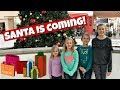 SANTA IS COMING! FUN FAMILY CHRISTMAS SHOPPING WITH 5 KIDS!