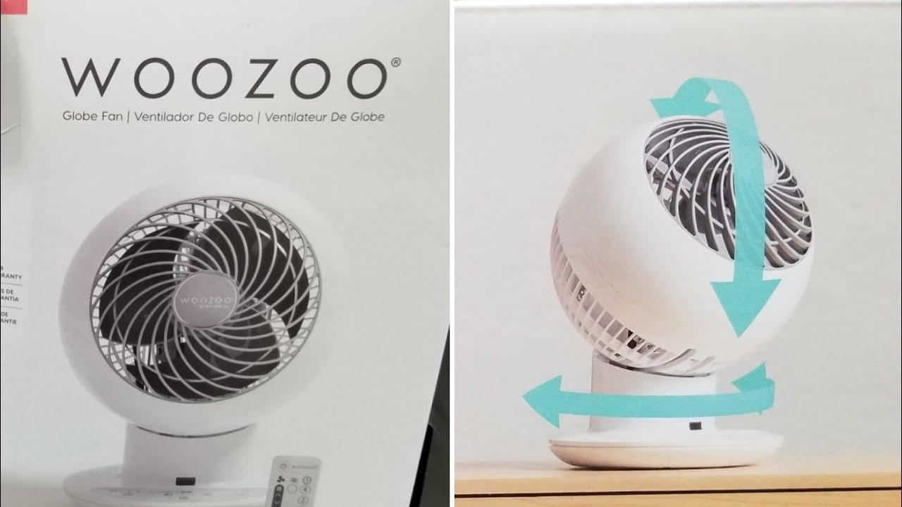 Download Costco WOOZOO 5-Speed Multi-directional Globe Fan w/ Remote $34