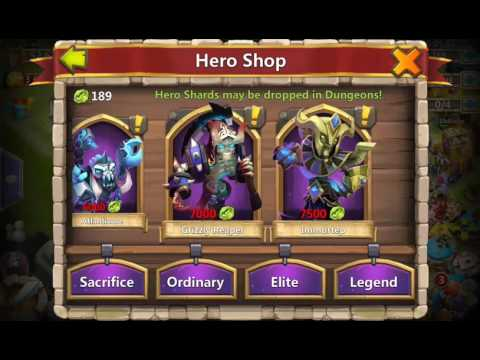 Castle Clash Epic Rolling For Cupid Just 750 Gems
