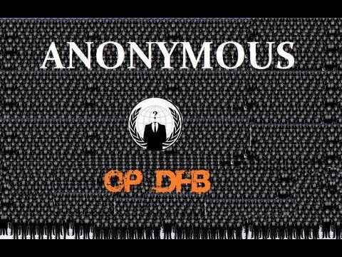 Anonymous - #Operation Deutscher Fußball Bund