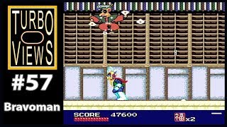 """Bravoman"" - Turbo Views #57 (TurboGrafx-16 / Duo / Wii game REVIEW!)"