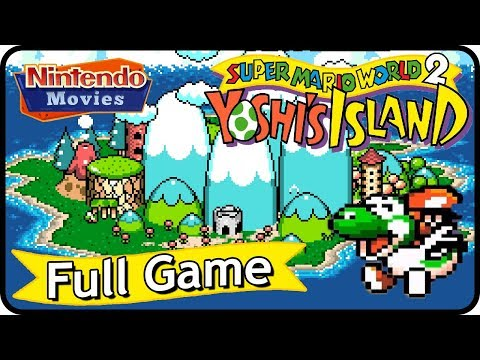 Super Mario World 2: Yoshiu0027s Island   Full Game (100% Walkthrough)