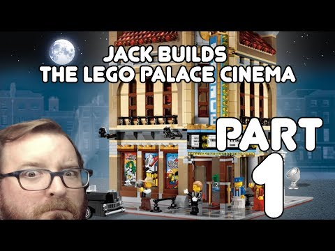 Real Life Minecraft! Jack builds the LEGO Palace Cinema Part 1!