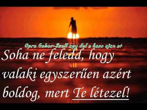 Opra Gabor-Szall egy dal