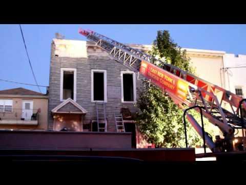 *2ALARM FIRE* BOX 1850: 117 EUCLID AVE C/S RIDGEWOOD AVE (10/20/2012)