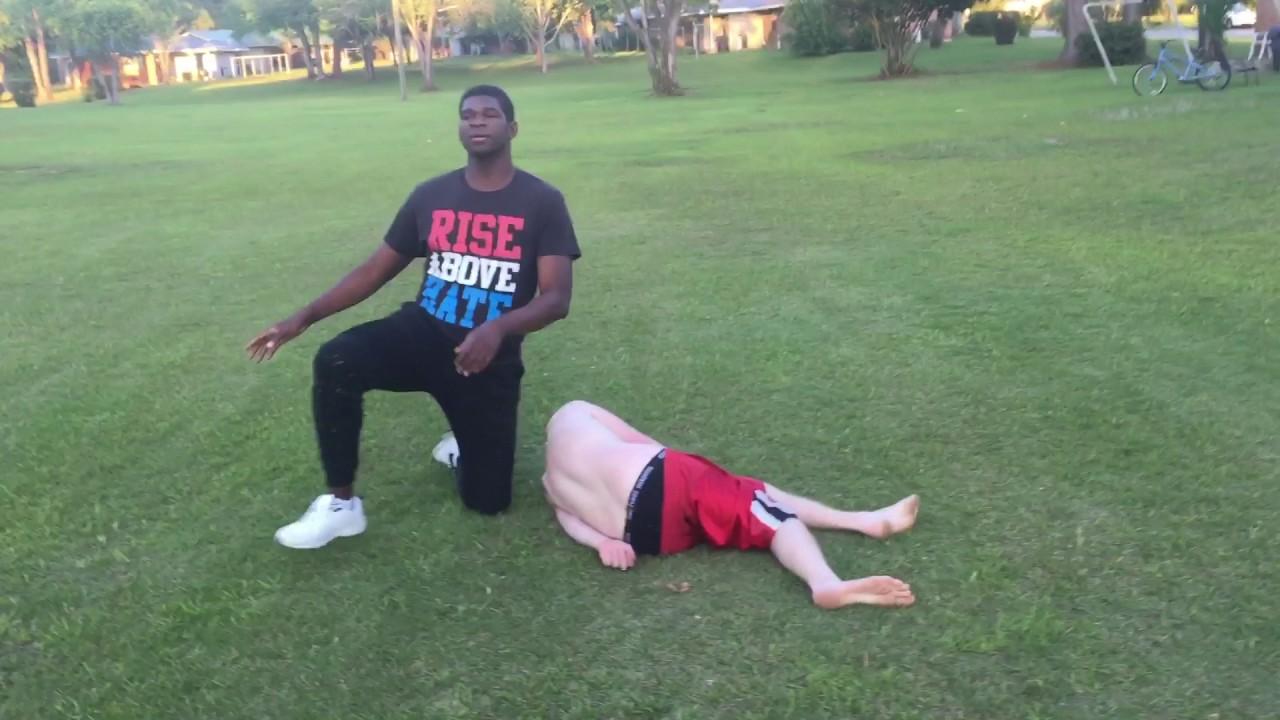 mr ice t vs the unknown ccw u0027s backyard wrestling youtube