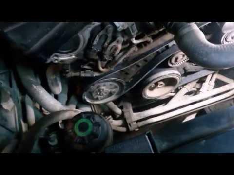 BMW замена ремня