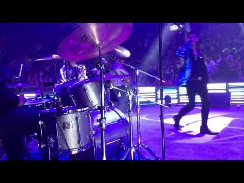 Adriel Favela - El Fulano (En vivo Palenque del Fex) (drum cam)
