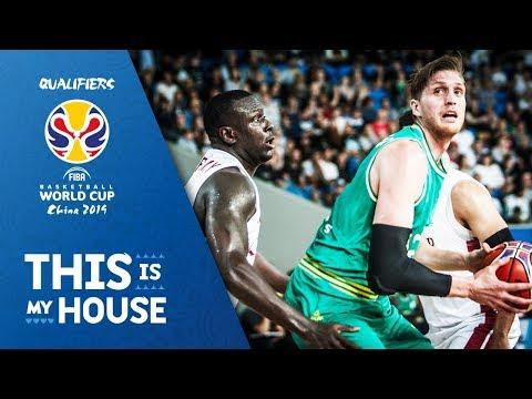 Australia v Qatar - Highlights - FIBA Basketball World Cup 2019 - Asian Qualifiers
