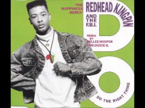 Redheat kingpin & The F.B.I. - Do the right thing (Happines Remix) 12""