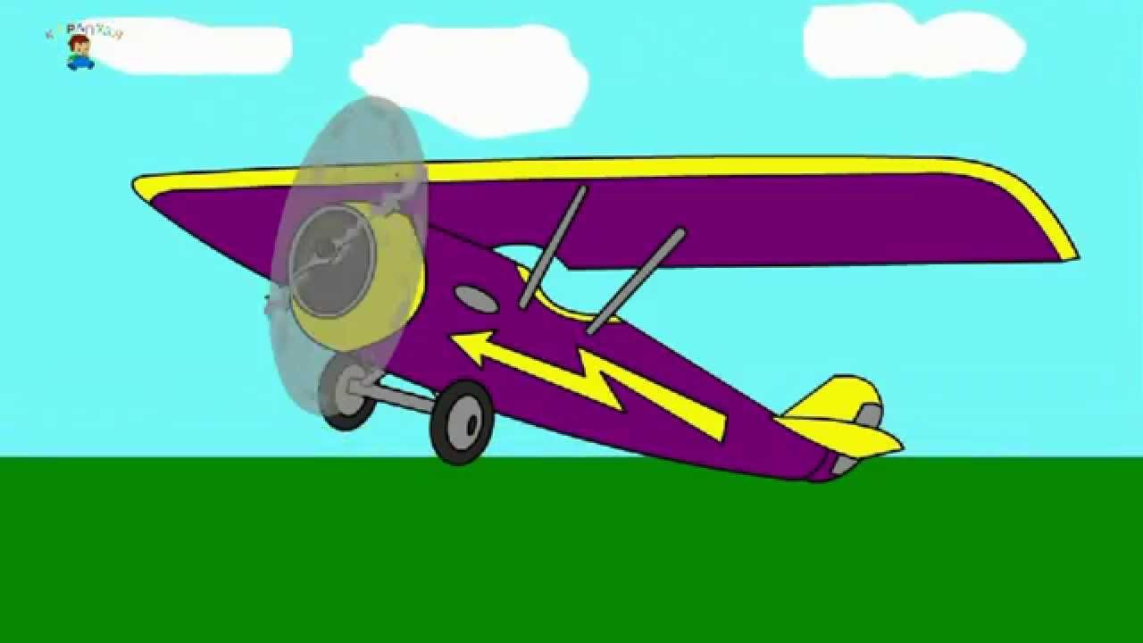 Eğitici çizgi Film Boyama Kitabı Uçak Youtube