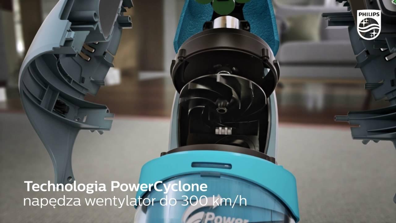 bestseller odkurzacz philips fc6409 powerpro aqua 3w1 myjący turboszczotka