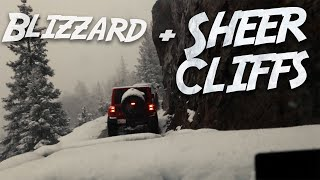 We Hit A BLIZZARD In Telluride - Snowy WEEKENDERLANDER EP 24 Overland in Ouray with Tacoma + Jeeps