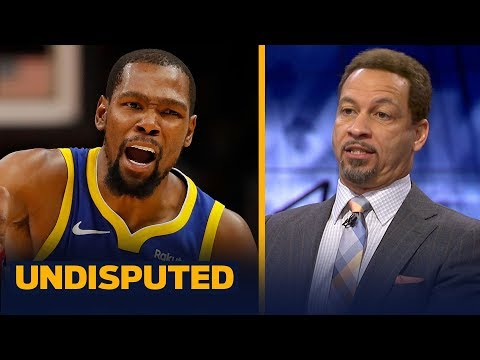 Chris Broussard says Kevin Durant will not consider joining LeBron and the Lakers | NBA | UNDISPUTED