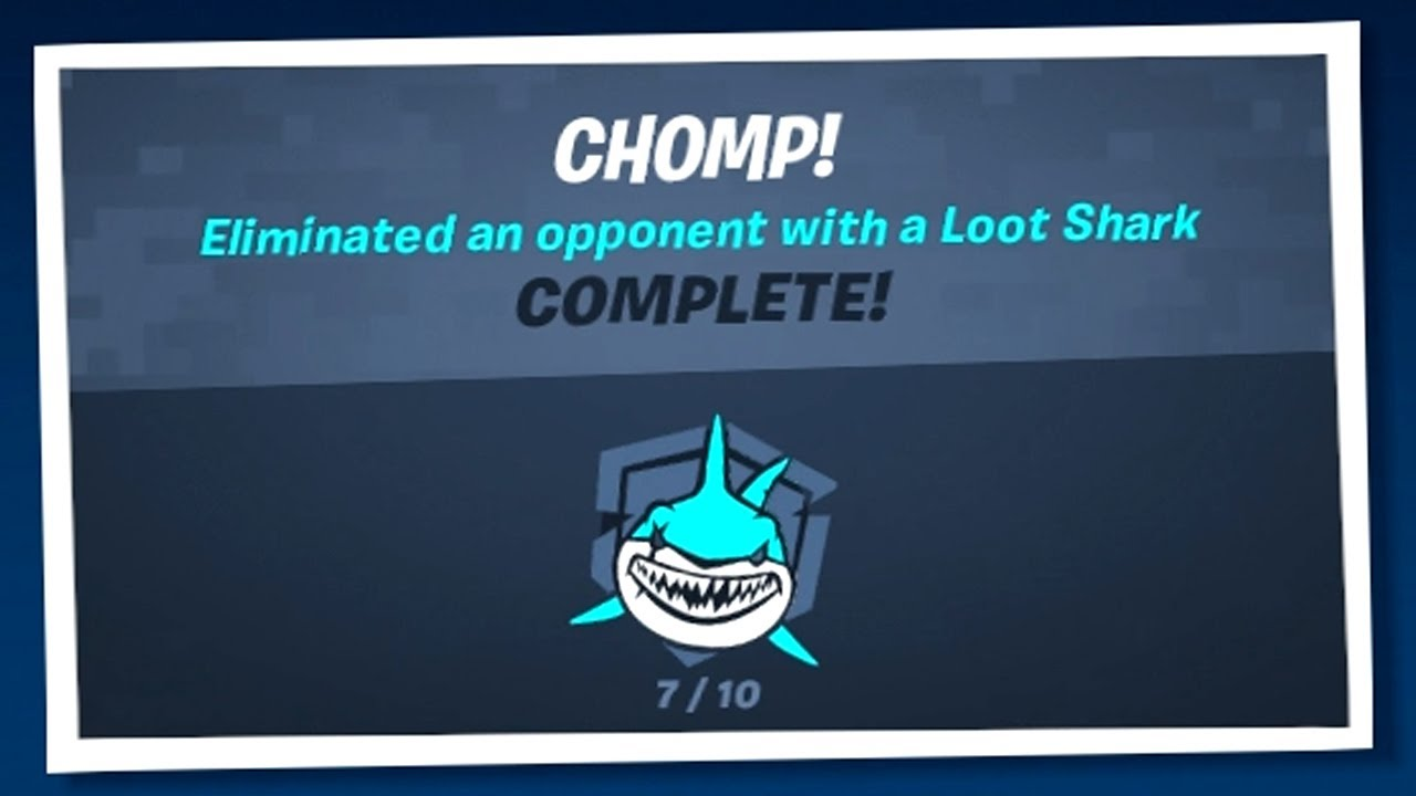 How to Complete Chomp! Punchcard - Fortnite Chapter 2 Season 3 Guide