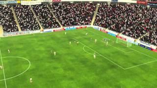 Real Madrid - M�laga - Gol de Willems 45 minutos