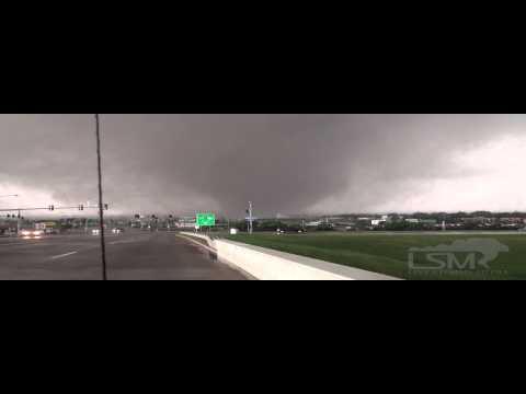 5/20/13 Moore, OK; I-35 Tornado *Lawrence McEwen HD*