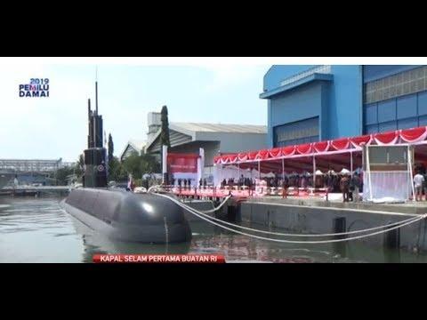 PT PAL Luncurkan Kapal Selam Buatan Dalam Negeri