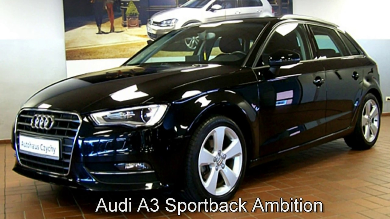 audi a3 sportback ambition fa103777 mythosschwarz 2015. Black Bedroom Furniture Sets. Home Design Ideas
