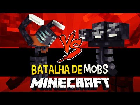 Morbid Harvester vs Wither -  Briga de Mobs Minecraft