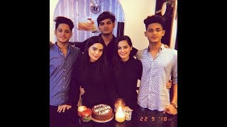 Aiman Khan and Minal Khan Celebrating Their Twins Brothers Birthday With Family | Aiman Minal