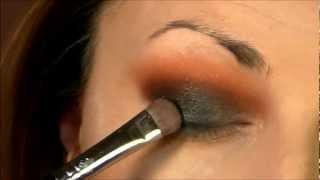 Black & Orange Smokey Eyes (MakeupTutorial) Thumbnail