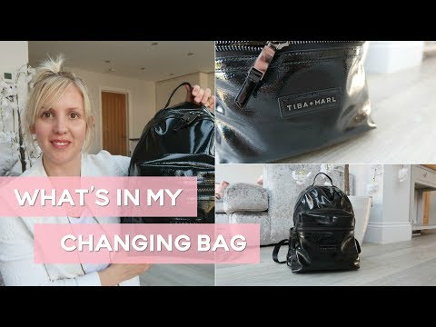 BABY NAPPY BAG / DIAPER BAG - MUST HAVES! // WHAT'S IN MY BAG?