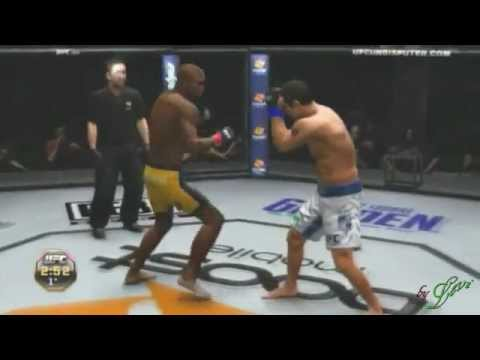 UFC Undisputed 3 Anderson Silva vs Vitor Belfort  Xbox 360  Canal LL