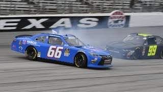 All NASCAR Crashes From Texas (2018 Playoffs)