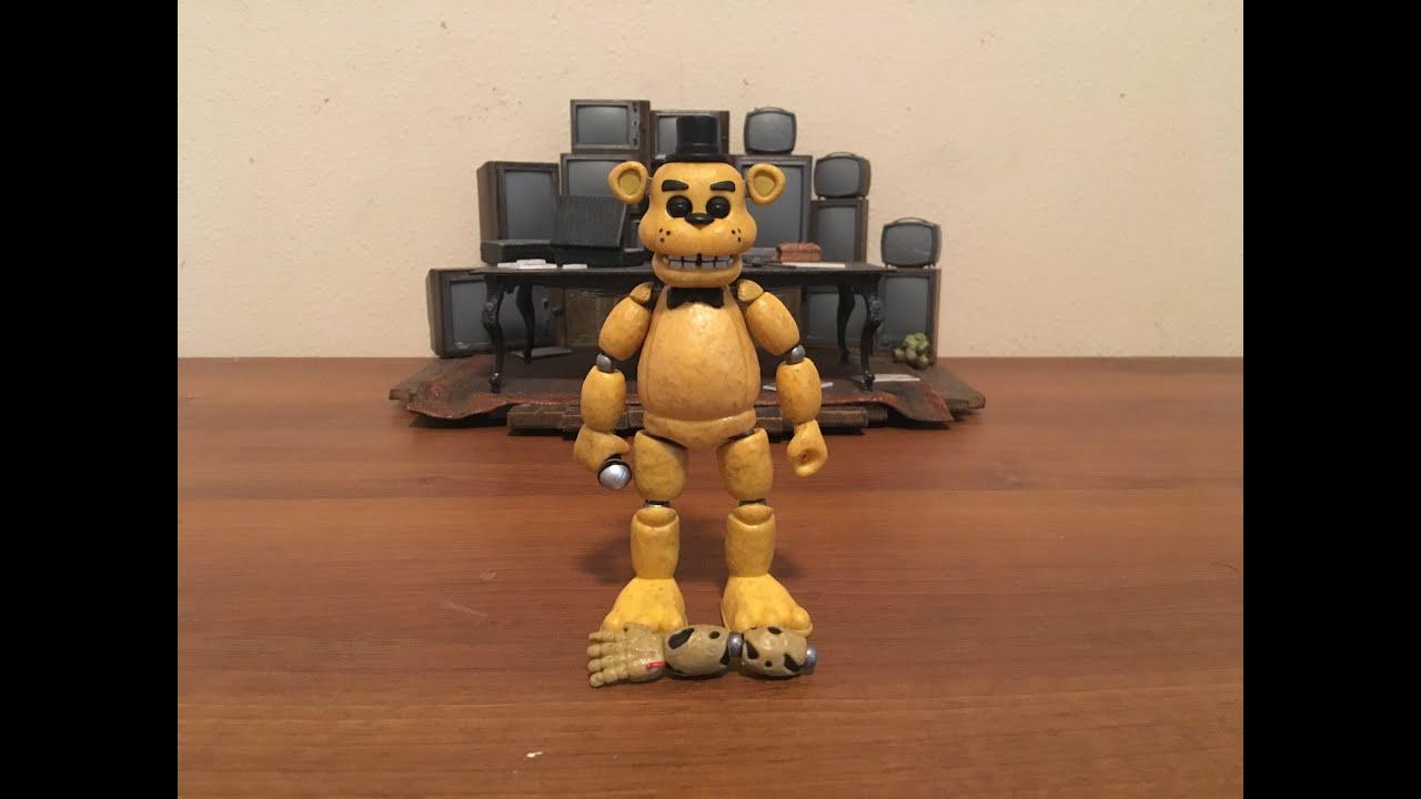 Gold Freddy Toys : Fnaf golden freddy action figure funko youtube