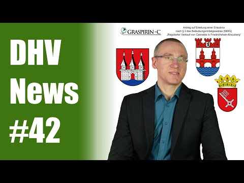 Cannabis bald legal in Bremen, Hamburg, Berlin & NRW? | DHV News #42