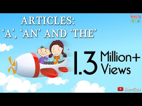 English grammar proper uses of articles  an the also youtube rh