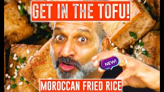 Moroccan Fried Rice | Moroccan Fried Rice W/ Tofu & Coriander | Soy-Yonara 3 | Feed 4 for Under $20