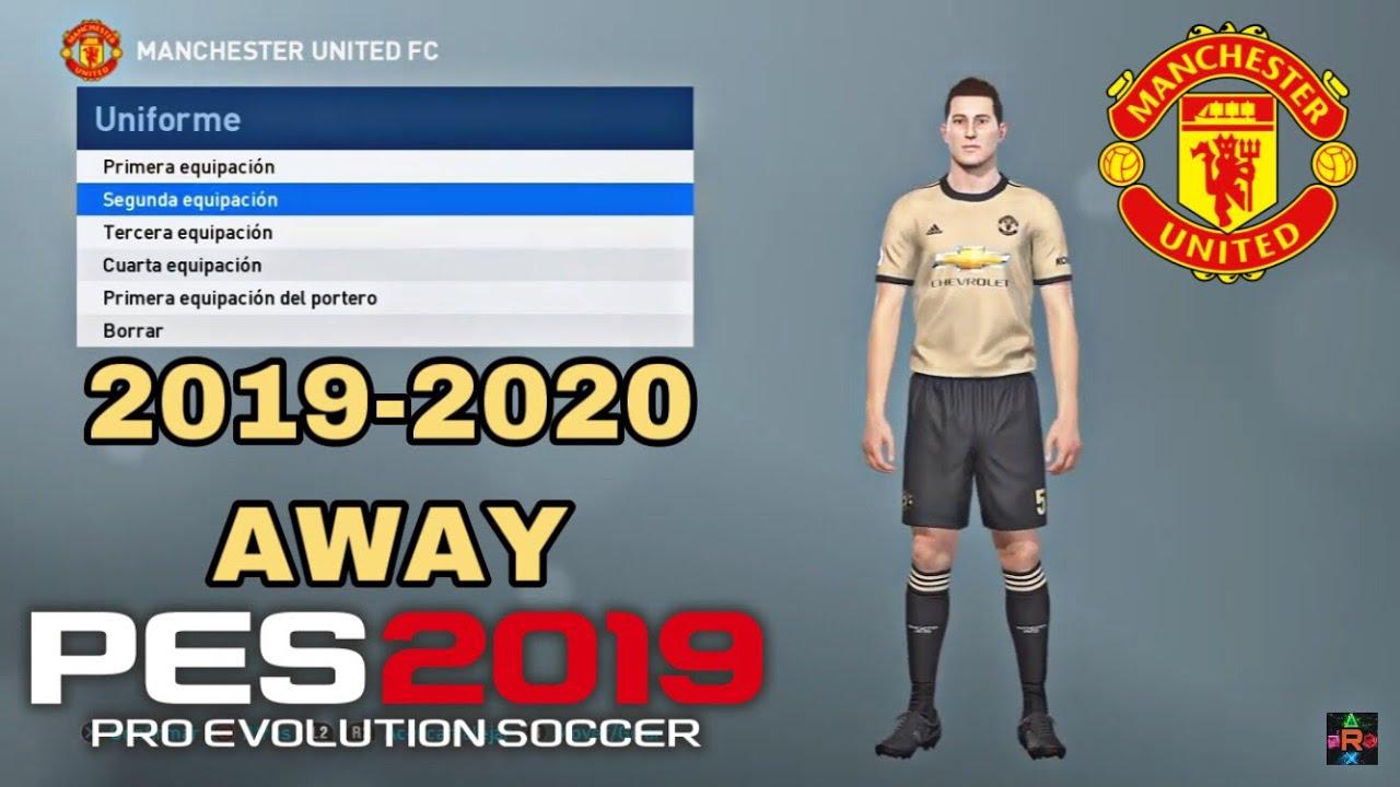 quality design 10294 7fe33 PES 2019 - KIT MANCHESTER UTD. 2019-2020 AWAY |iamRubenMG